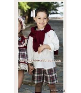 Conjunto Niño Blanca Valiente 817973
