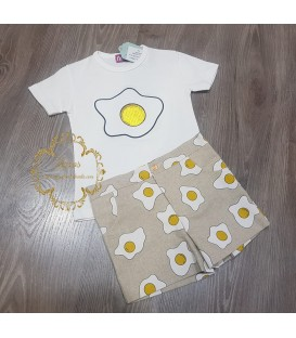 Conjunto Niño Nini Huevo Frito