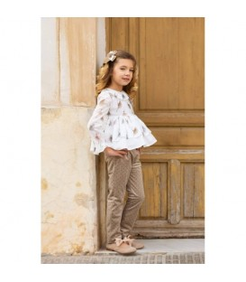Conjunto de blusa y pantalon Topacio Alhuka