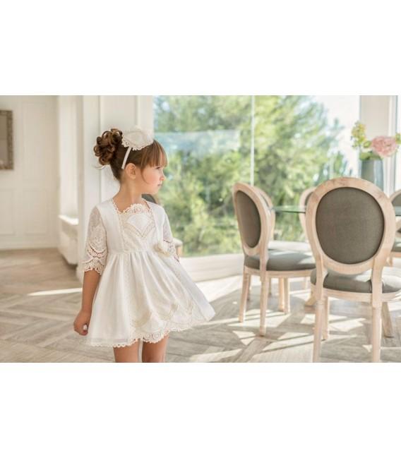 Vestido Ceremonia Infantil Miranda